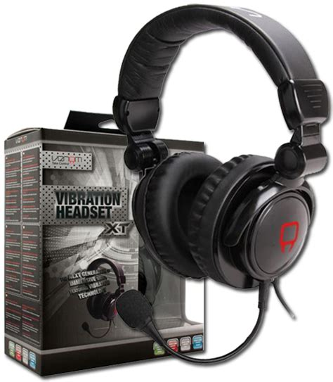Headphone Venom venom vibration gaming headset xt vibrating headphone for xbox sony ps3 pc mac ebay