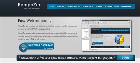 html design tool open source top open source tools for web design