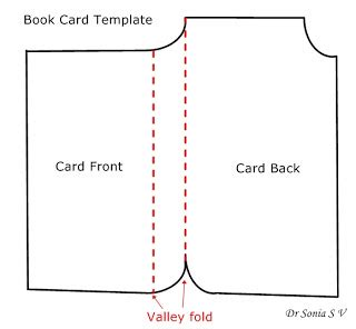 free shaped card templates to cards crafts projects book shaped card tutorial