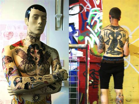 tattoo freakout freak out the as a canvas visuology