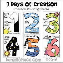 creation crafts and activities for sunday