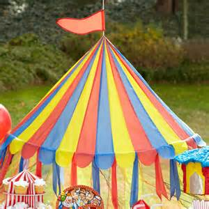 Carnival Canopy Tent by Carnival Props Circus Party Backdrops Standees Large Party