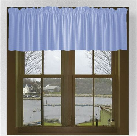Solid Window Valances Solid Colored Cotton Window Valances In 44 Colors