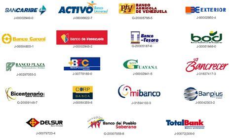 bancos de venezuela listado de c 243 digos de bancos en venezuela 2017