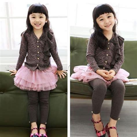 Kaos Kaki Tutu Ruffle Import kid ruffle tutu skirt slim culottes ages 2 7 years gift