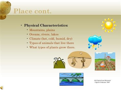 themes of geography movement exles five themes of geography powerpoint