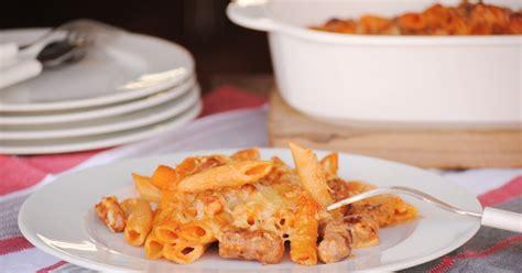 pene con salchicha y cocinando con neus macarrones con salchichas para