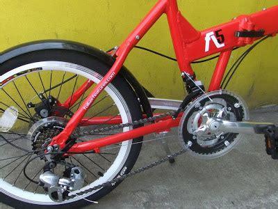 Tas Sepeda Folker folding bike folker fl5 harga rp 2 350 000 dbs bicycle