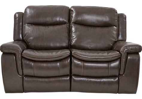 milano leather recliner sofa milano brown leather loveseat classic contemporary
