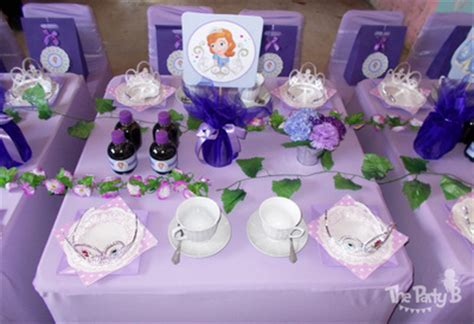 1st birthday decoration ideas at home sofia the first themed tea party cape town the party b