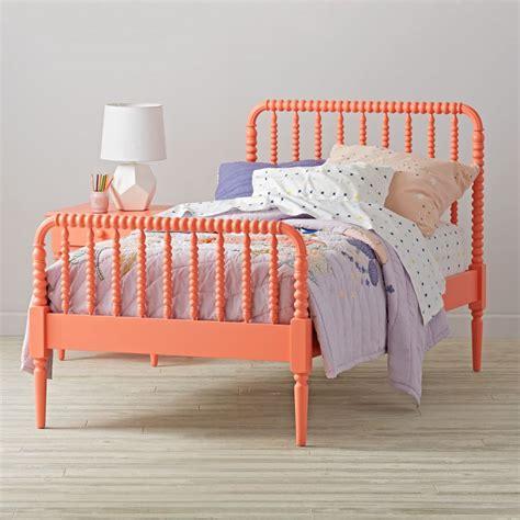 jenny lind bunk bed coral jenny lind kids bed the land of nod