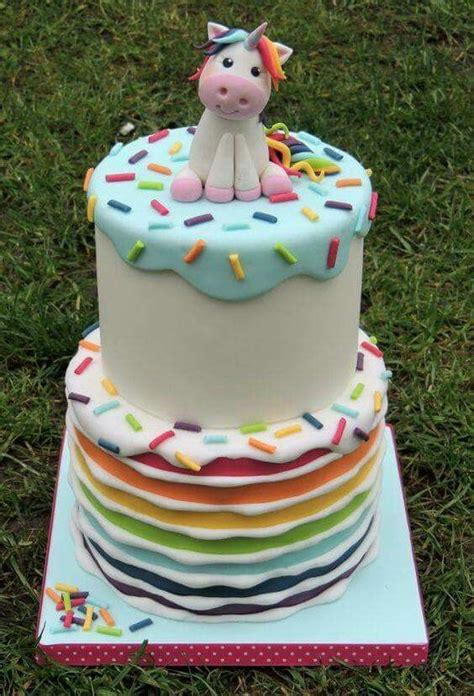 Ideal For Baby Shower by Unicorn And Rainbows Cake Ideal For A Unicorn Themed Baby