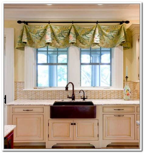 kitchen window curtain ideas 15 lovely kitchen curtain ideas home design lover kitchen