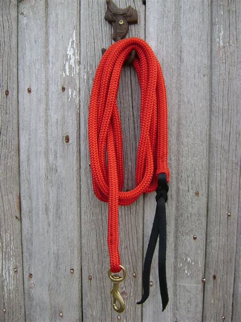 Handmade Rope Halters - colored lead ropes for rope and halters handmade