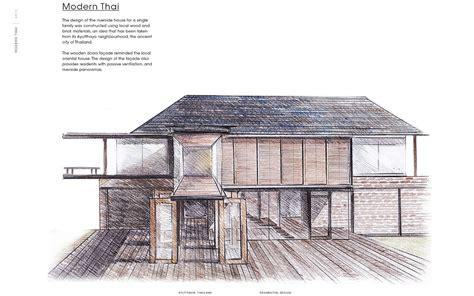 modern thai house design modern thai house ppantrakul