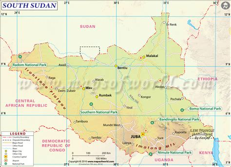 south sudan map south sudan map map of south sudan