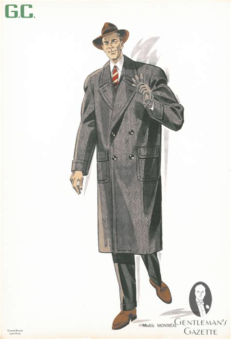 50s clothing men s overcoats amp suits gentleman s gazette