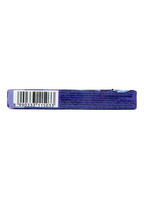 Permen Jelly Stick lotte chewing gum 5 stick blueberry pck 15g klikindomaret