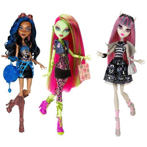 high doll nib 3 high dolls rochelle goyle venus mcflytrap