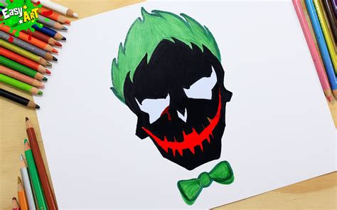 imagenes de joker de navidad c 243 mo dibujar el logo del joker how to draw logo joker