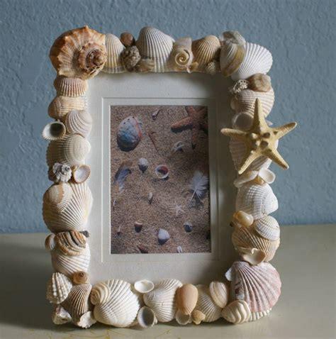 cornici conchiglie decorazioni con le conchiglie fai da te foto pourfemme