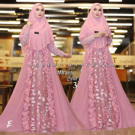 Gamis Pesta Katun Gamis Miranti gamis syari miranti 2 by agoest hanggono pusat grosir baju muslim