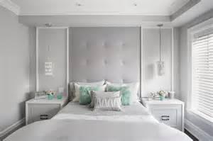 gray teenage girl bedroom gray headboard with aqua shag pillows contemporary
