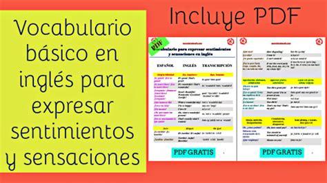 imagenes ingles basico vocabulario archives aprende ingl 233 s sila
