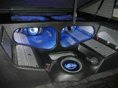 truck bed speakers gmc sierra truck bed plexi custom fiberglass car audio