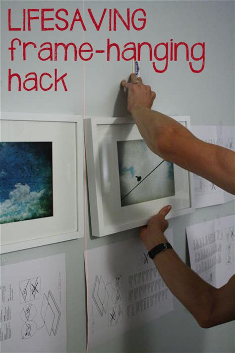 how to hang picture frames that have no hooks amazing free trick for hanging picture frames in a grid