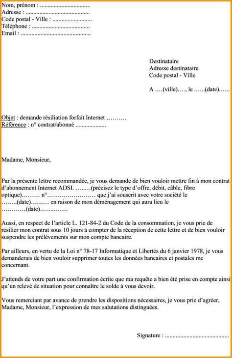 Lettre De Resiliation Free Cause Demenagement 4 Lettre De Demenagement Lettre Administrative