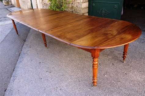 Table Ronde A Rallonge 391 by Table Louis Philippe En Noyer Massif Xixe Si 232 Cle N 50425