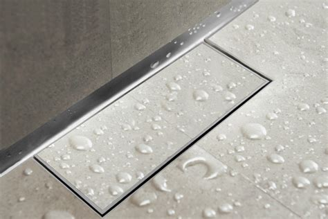 bathroom water drain easy drain waterstop wall linear shower drain