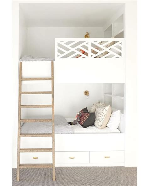 built in bunk beds 25 best ideas about built in bunks on pinterest white
