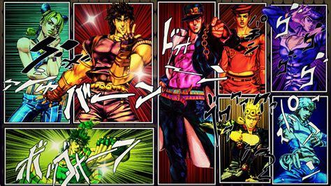anime jojo jojo s bizarre adventure full hd wallpaper and background