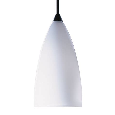 Pendant Lighting Shades Only Shop Kendal Lighting 7 In H 4 In W White Teardrop Pendant Light Shade At Lowes