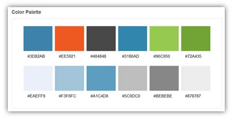 website colour schemes the basics of web design the tech related blog
