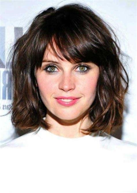 35 awesome bob haircuts with bangs makes you truly 15 photo of wavy bob hairstyles with bangs