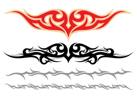 tribal armbands tattoos and black tribal armband tattoos designs