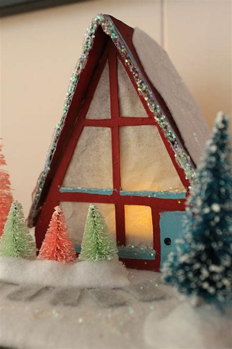 a frame house renovations free pattern cardboard christmas houses search results calendar 2015