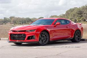 Chevrolet Camaro 2017 2017 Chevrolet Camaro Zl1 Drive Review Fast To