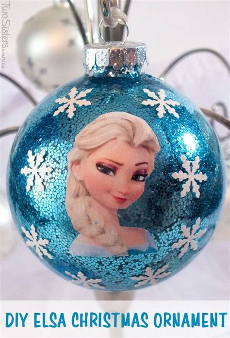 printable frozen ornaments diy frozen christmas ornaments frozen projects