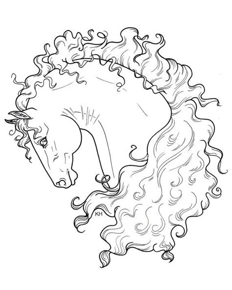 coloring pages of beautiful horses 51 best coloring pages to print horses images on
