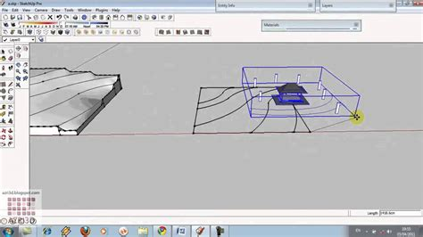 google sketchup tutorial youtube google sketchup basic tutorial 06 siteplan dengan sandbox