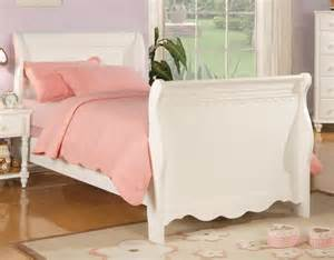 Girls Beds Girls Sleigh Bed Contemporary Bedroom Furniture Sets