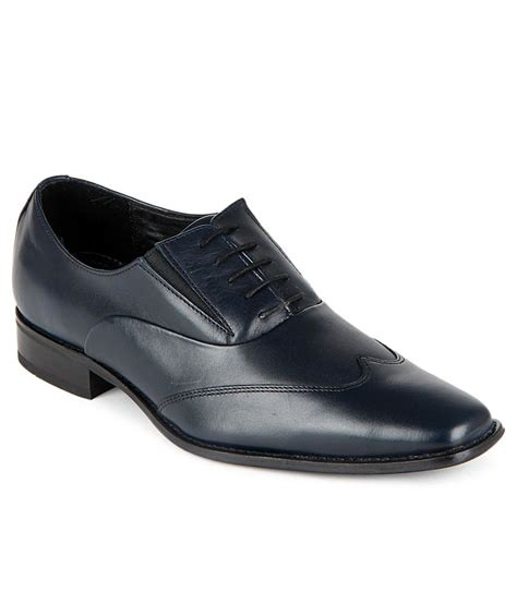 ruosh navy formal shoes price in india buy ruosh navy