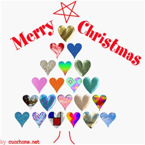 merry christmas  love tree heart images cuorhomenet