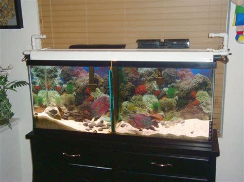 aquarium hood design diy diy rain gutter aquarium hood