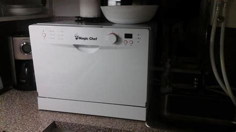 Magic Chef Countertop Dishwasher by Meer Dan 1000 Idee 235 N Draagbare Vaatwasser Op