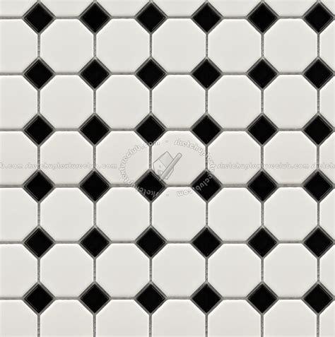 Checkerboard concrete floors tiles textures seamless